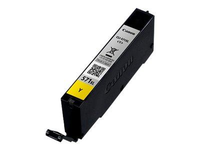 Canon CLI-571XL Y Yellow Ink Cartridge