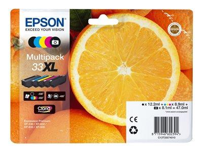 Epson XP530/630/830 Multipack XL Ink Cartridge