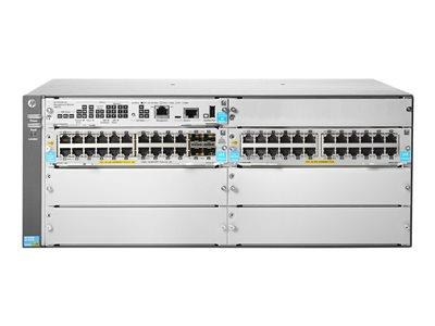 HPE HP 5406R 44GT PoE+ / 4SFP+ (No PSU) v3 zl2 Switch - 44 ports - Managed - Rack-Mountable