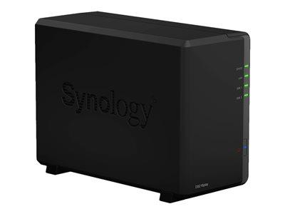 Synology DS216Play 8TB (2 x 4TB WD RED) 2 Bay NAS Solution