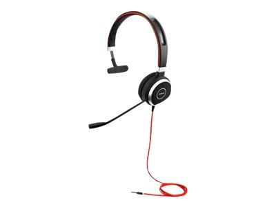 Jabra Evolve 40 UC Mono with 3.5mm Jack Only