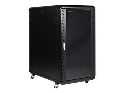 "StarTech.com 22U 36"" Knock-Down Server Rack Cabinet with Casters"