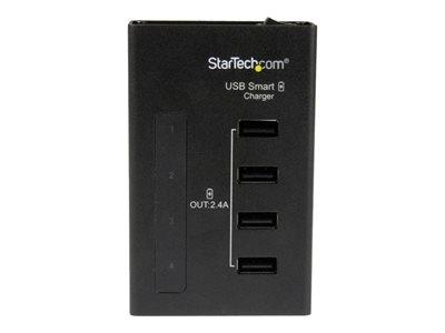 StarTech.com 4-Port Charging Station for USB Devices - 48W/9.6A