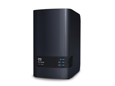 WD 4TB My Cloud EX2 Ultra (2x2TB WD Red) 2bay 1GB DDR3 NAS