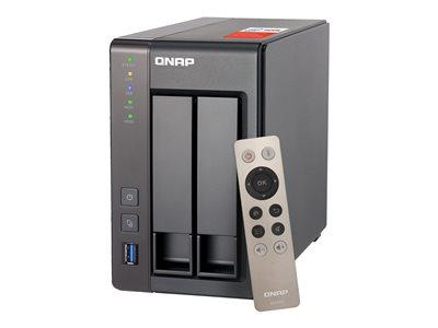 QNAP TS-251+-2G/6TB-RED 2 Bay Desktop NAS