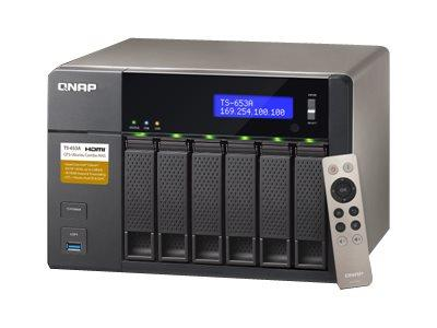 QNAP TS-653A-8G/24TB-RED 6 Bay Desktop NAS