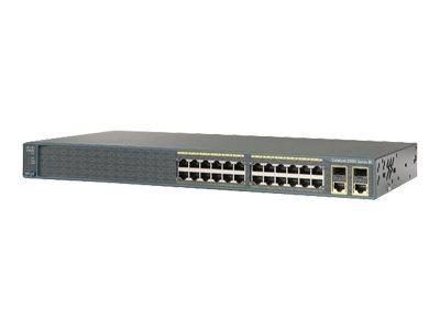 Cisco Catalyst 2960-Plus 24PC-L Switch Managed 24 x 10/100