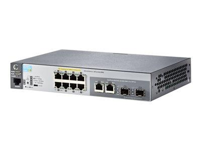 Aruba HP 2530 8 POE+ Switch