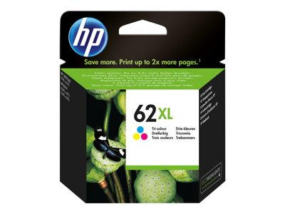 HP 62XL Tri-Color Ink Cartridge