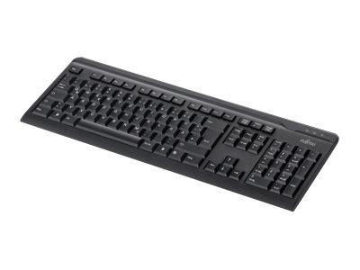 Fujitsu KB410 Wired Black Keyboard