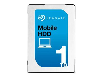 "Seagate 1TB Mobile 2.5"" 7mm SATA 6Gb/s 128MB Internal Hard Drive"