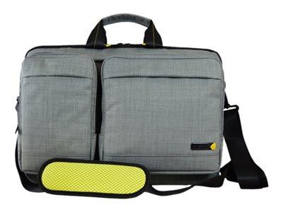 "Techair 15.6"" Magnetic Shoulder Bag With Removeable Pockets"