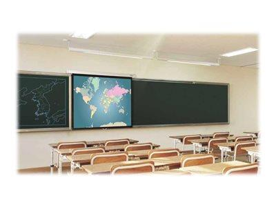 Optoma DS-9092PWC 16:9 Pull Down Projector Screen, 92 Inch