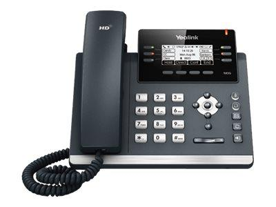 Yealink T42GN Gigabit IP Phone with Greyscale Screen - POE