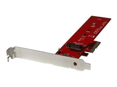 StarTech.com x4 PCI Express to M.2 PCIe SSD Adapter
