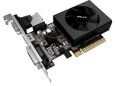 PNY GeForce GT 730 2 GB DDR3 PCIe 2.0 x8 Low Profile DVI D-Sub HDMI