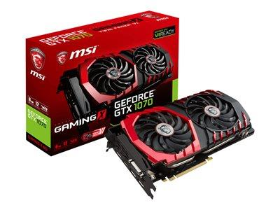 MSI GeForce GTX 1070 GAMING X 8G 8GB GDDR5 Graphics Card