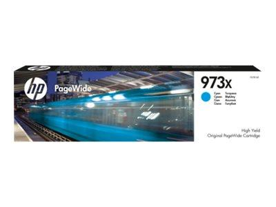 HP HP 973X High Yield Cyan Original PageWide Cartridge