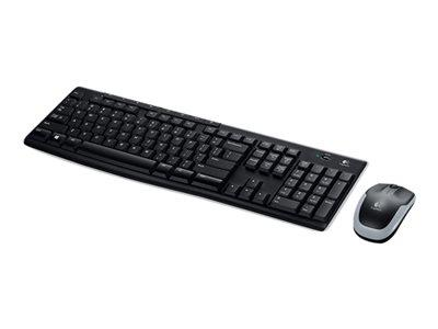 Logitech Wireless Combo MK270 - Keyboard And Mouse Set Spanish