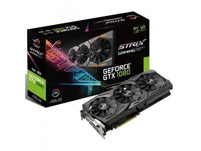 Asus GeForce GTX 1080 ROG STRIX 1835MHz 8GB GDDR5X PCIe3.0 Graphics Card