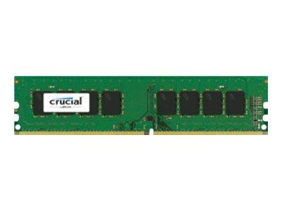 Crucial 16GB DDR4 DIMM 288-pin 2400 MHz/PC4-19200 CL17 1.2V unbuffered non-ECC
