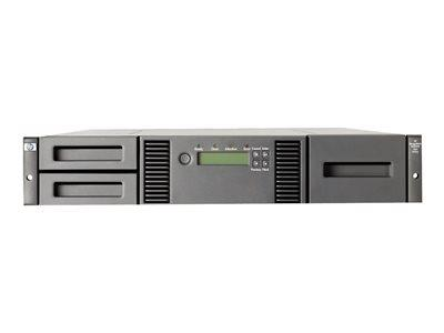 HPE StoreEver MSL2024 Ultrium 15000 - Tape library - 144 TB