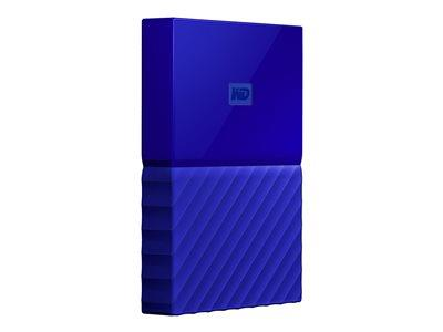 "WD 1TB My Passport 2.5"" USB 3.0 Portable Hard Drive - Blue"
