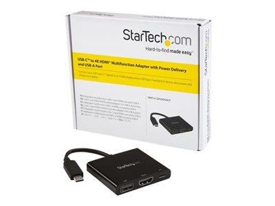 StarTech.com USB-C to 4K HDMI Adapter with Power Delivery
