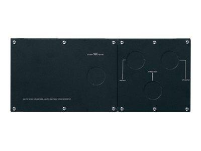 "APC Service Bypass Panel (Rack-Mountable) AC 200/240 V Output Connectors: 3 - 4U - 19"" - Black"