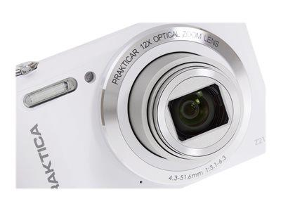 Praktica Luxmedia Z212 White Camera Kit inc 16GB MicroSD Card