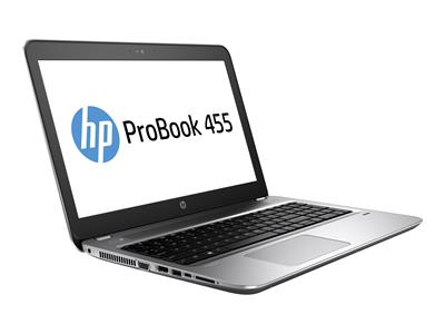 "HP ProBook 455 G4 - 15.6"" - A series A10-9600P - 4 GB RAM - 500 GB HDD with HP Basic Carrying Case"