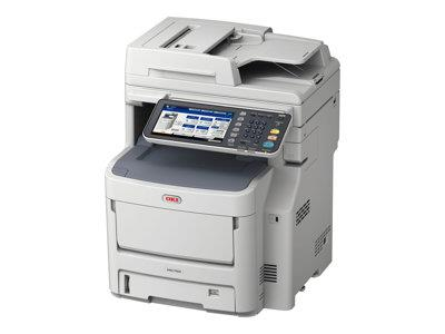 OKI MC760dnfax A4 Colour Multifunction Printer