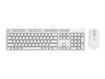 Dell KM636 - Keyboard and mouse set - wireless - UK