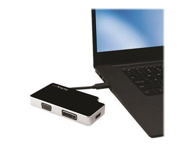 StarTech.com USB-C to VGA, DVI or HDMI