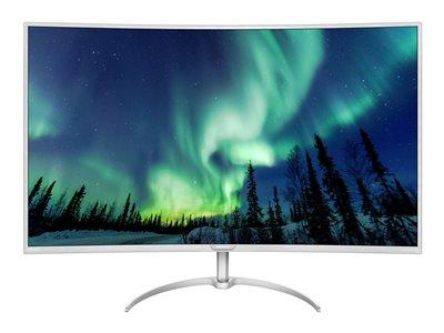 "Philips 40"" BDM4037UW 3840x2160 4K VGA HDMI DP UHD Curved Monitor"