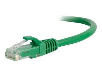 C2G 0.5m Cat6A UTP LSZH Network Patch Cable - Green