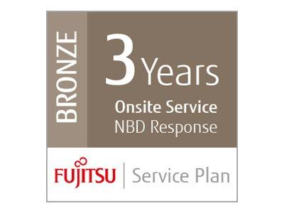 Fujitsu Assurance Program Bronze Extended Service Agreement 3 Years On-Site for fi-6750S