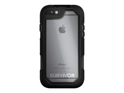 Griffin Survivor Summit for iPhone6 Plus/6s Plus - Black/Clear/Black