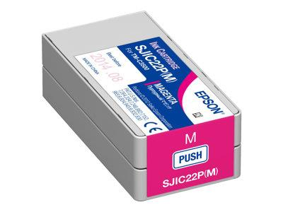 Epson SJIC22P(M): Magenta Ink cartridge for ColorWorks C3500