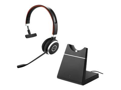 Jabra Evolve 65 Mono MS Wireless Headset and Charging Stand