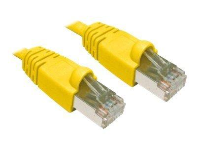 Cables Direct 2M CAT6 STP-LSOH SNGS-Yellow B/Q 150