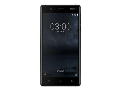 "Nokia 3 - 5"" 16GB 8MP 4G Android Smartphone - Black"