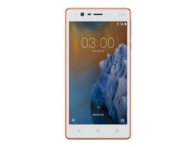 "Nokia 3 White - 5"" 4G 16GB 8MP Camera Android Smartphone"