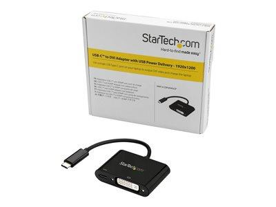 StarTech.com USB-C to DVI with USB PD