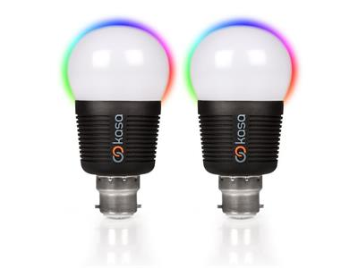 Veho Kasa Bluetooth Smart LED Light Bulb B22 Bulb - Twin Pack