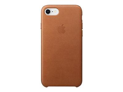 Apple iPhone 8 / 7 Leather Case - Saddle Brown