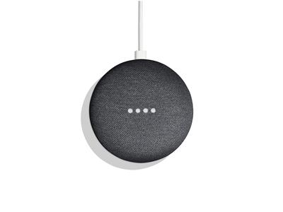 Google Home Mini - Smart Speaker - Charcoal