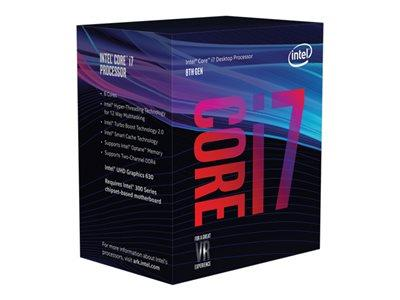 Intel Core i7-8700 8th Gen S1151 3.20GHz 12MB Cache Coffee Lake