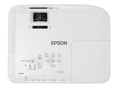 Epson EB-W05 Mobile Projector WXGA  1280 x 800  16:10  HD ready