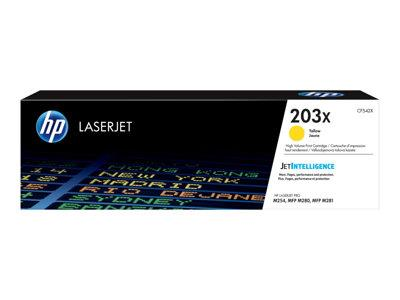 HP 203X High Yield Yellow Original LaserJet Toner